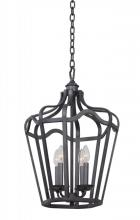 Kalco 7414CL - Livingston 14 Inch Small Lantern