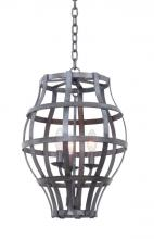 Kalco 7494VI - Townsend 3 Light Lantern