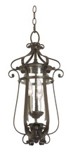 Kalco 9235BB - Hartford Outdoor 3 Light Medium Hanging Lantern