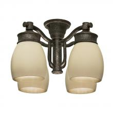 Casablanca Fan Co. 99087 - Outdoor Four-Light Aged Bronze Fixture