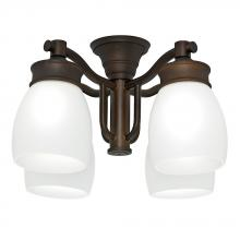 Casablanca Fan Co. 99091 - Outdoor Four-Light Maiden Bronze Fixture