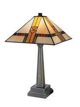 Dale Tiffany 8655/551 - Edmund Mission Table Lamp
