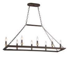 Quoizel BKH838WT - Brook Hall Island Chandelier