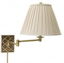 House of Troy WS760-AB - Swing Arm Wall Lamp