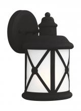 Sea Gull 8521451-12 - Small One Light Outdoor Wall Lantern