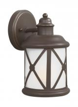 Sea Gull 8521451-71 - Small One Light Outdoor Wall Lantern