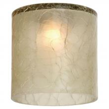 Sea Gull 94395-6124 - Ambiance Crackle Bamboo Green Directional Mini-Glass Shade