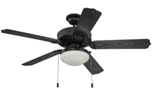 "Ellington Fan WOD52MBK5PC1 - Cove Harbor with Light Kit 52"" Ceiling Fan with Blades and Light in Matte Black"