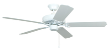"Ellington Fan WOD52WW5X - All-Weather 52"" Ceiling Fan with Blades in White"