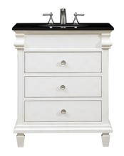 Elegant VF-1021 - 30 in. Single Bathroom Vanity set in Antique White
