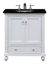 Elegant VF-1023 - 30 in. Single Bathroom Vanity set in White