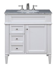 Elegant VF-1024 - 32 in. Single Bathroom Vanity set in White