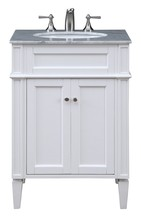 Elegant VF-1026 - 24 in. Single Bathroom Vanity set in White