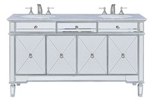 Elegant VF-1102 - 60 in. Double Bathroom Vanity