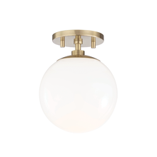 Hudson Valley H105601-AGB - 1 Light Semi Flush