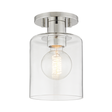 Hudson Valley H108601-PN - 1 Light Semi Flush