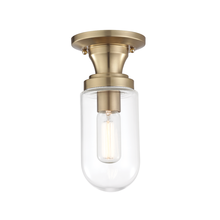 Hudson Valley H124601-AGB - 1 Light Semi Flush