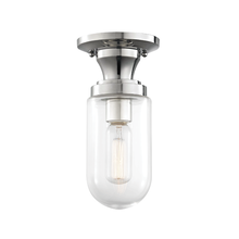 Hudson Valley H124601-PN - 1 Light Semi Flush