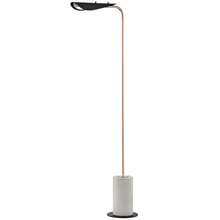 Hudson Valley HL157401-POC/BK - 1 Light Floor Lamp